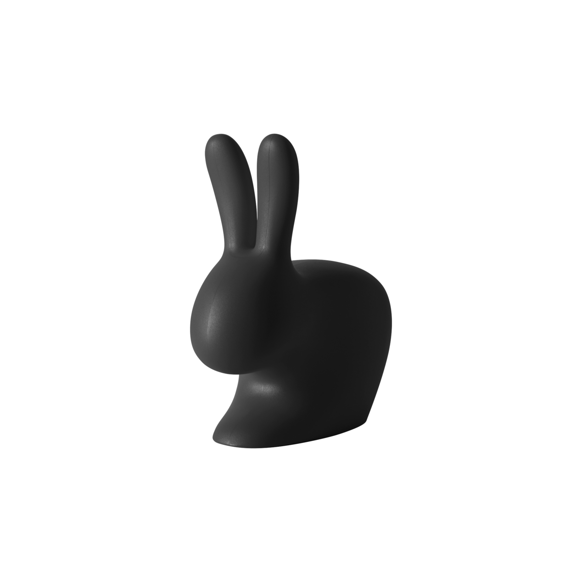 09 qeeboo rabbit chair baby by stefano giovannoni black 1200x