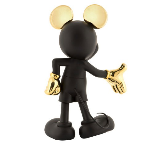 Mickey Welcome Noir et Or 3
