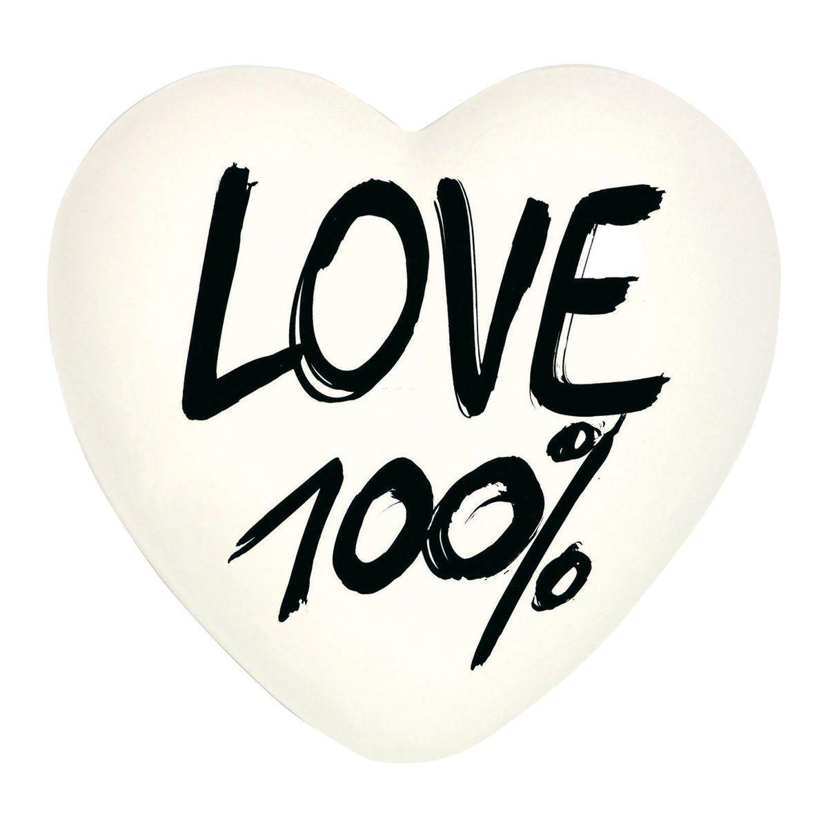 Heartgallery cuore ceramica 100 love CUO10 fronte sq