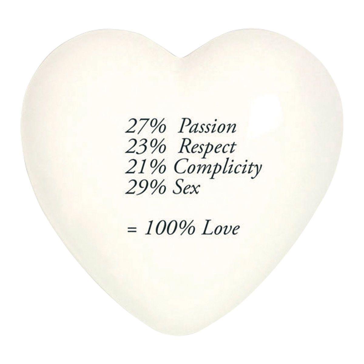 Heartgallery cuore ceramica 100 love CUO10 retro sq