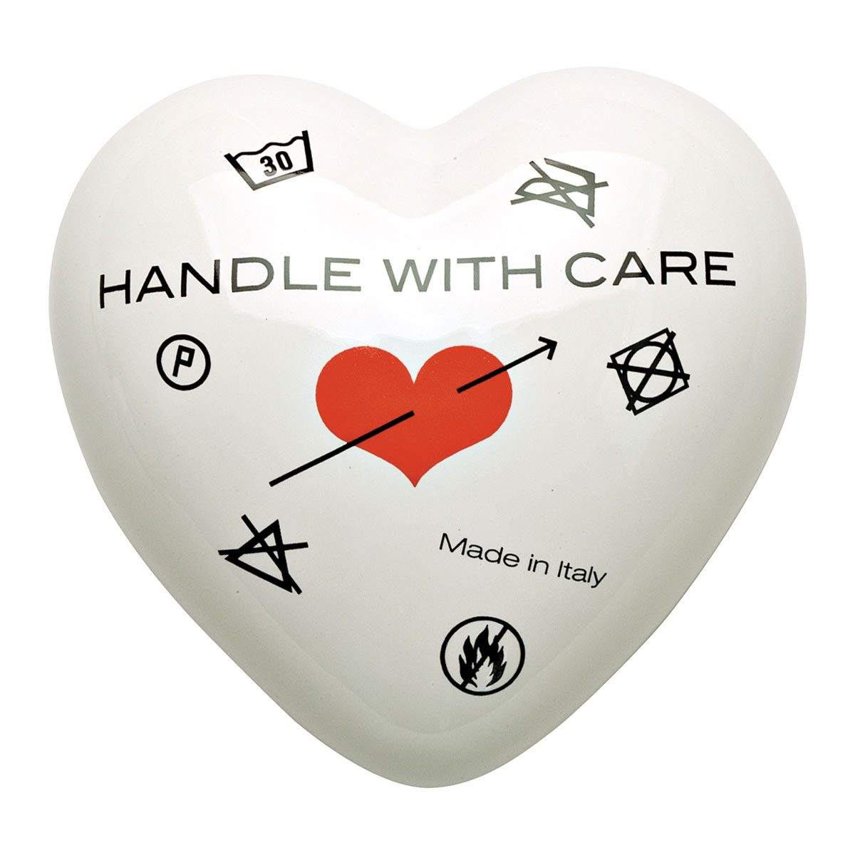 Heartgallery cuore ceramica Handle With Care CUOHN 1200