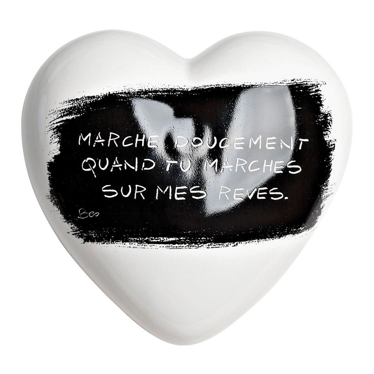 Heartgallery cuore ceramica Sui Miei Sogni FR CUOUF 1200