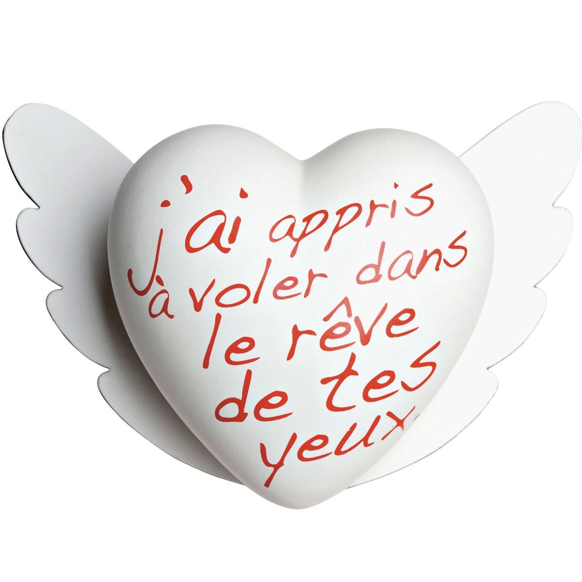 Heartgallery cuore ceramica Volare FR CUOVF 1200