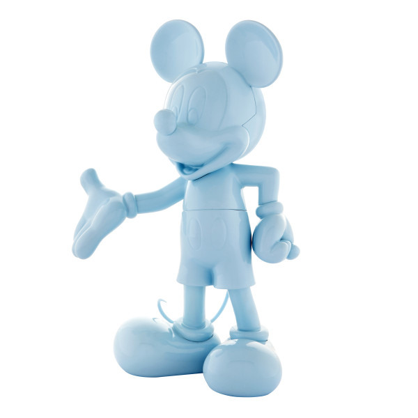 Mickey welcome blue laque 2