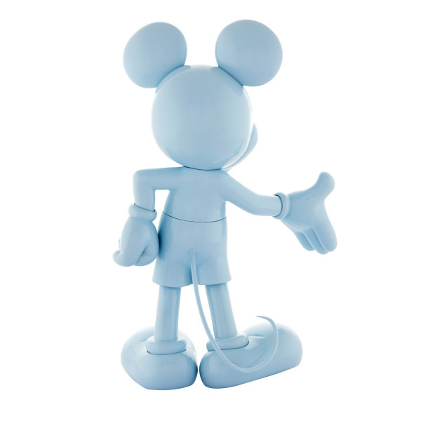 Mickey welcome blue laque 3