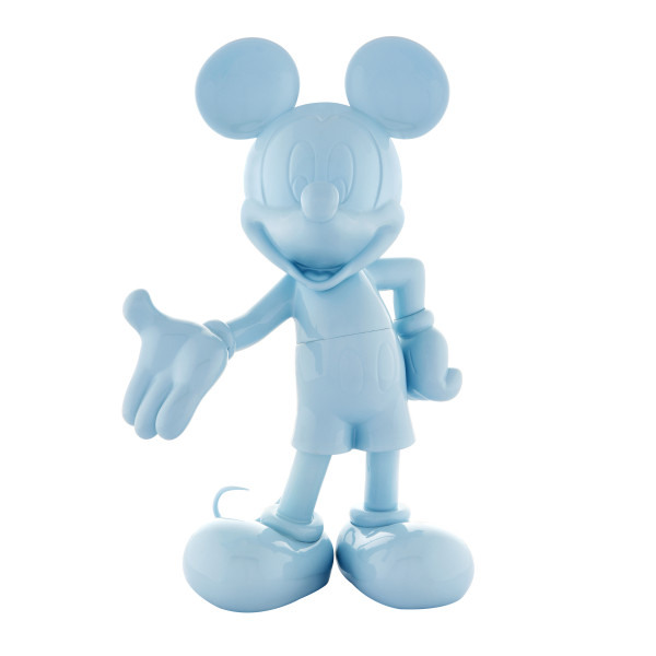 Mickey welcome blue laque