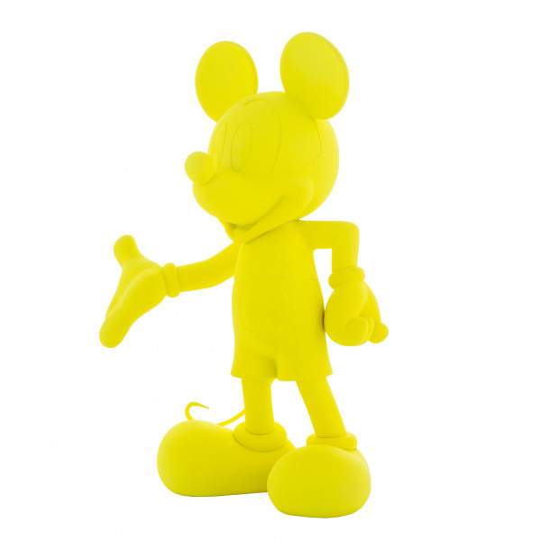 Mickey welcome fluo jaune 2