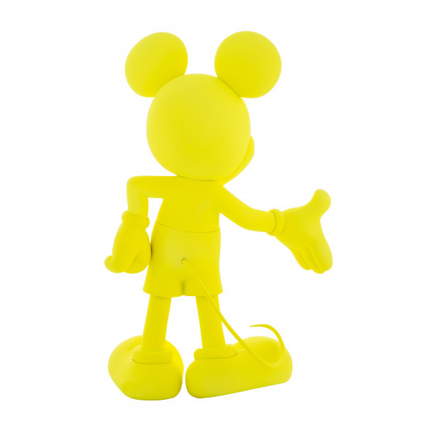 Mickey welcome fluo jaune 3