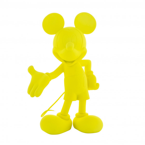 Mickey welcome fluo jaune