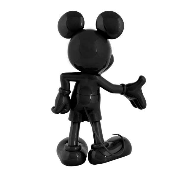 Mickey welcome noir laque 3