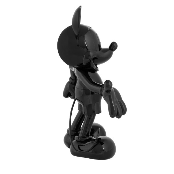 Mickey welcome noir laque 4