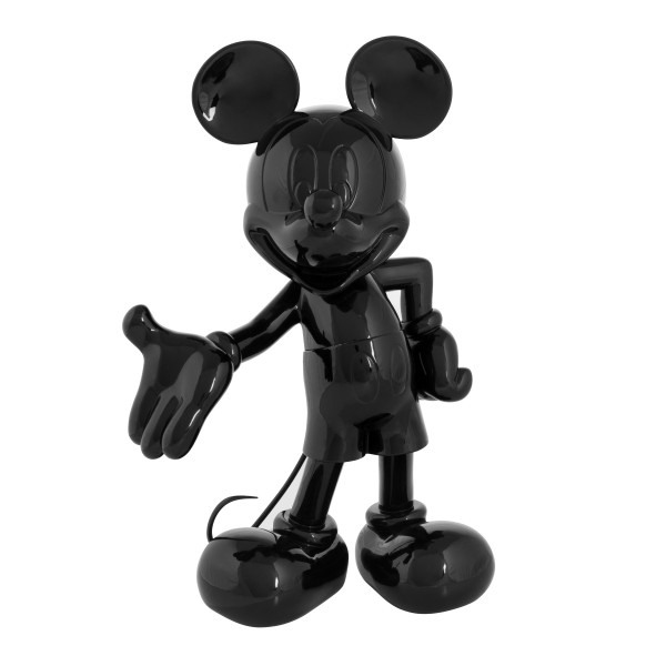 Mickey welcome noir laque