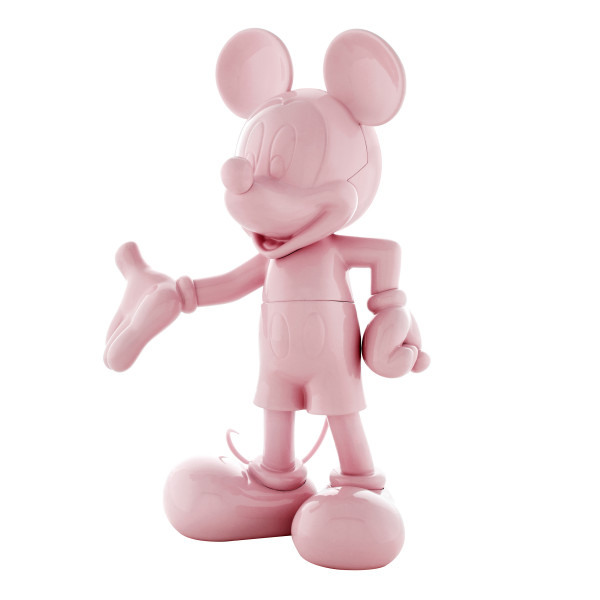 Mickey welcome rose laque 2