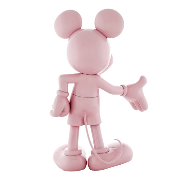 Mickey welcome rose laque 3
