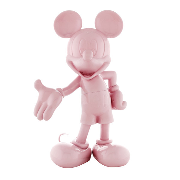 Mickey welcome rose laque