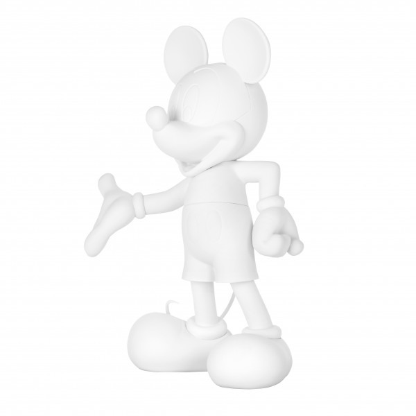 Mickey welcome soft touch blanc 2