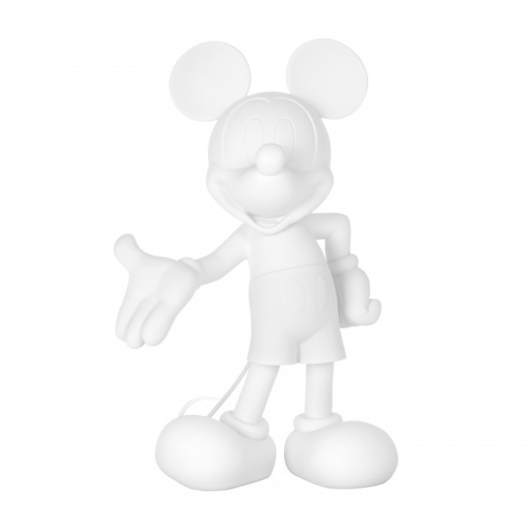 Mickey welcome soft touch blanc