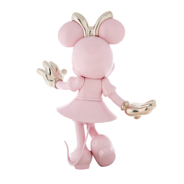 Minnie welcome bicolore rose or 3