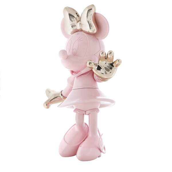 Minnie welcome bicolore rose or2