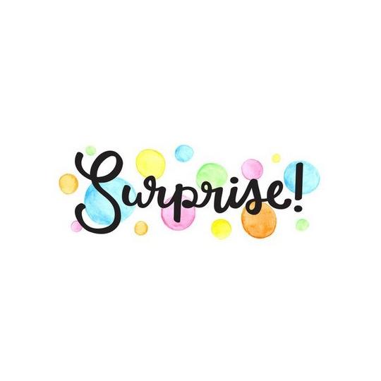 Une surprise